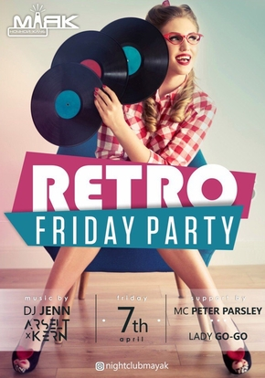 Retro friday party