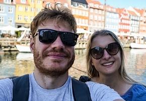 Семейная пара из Лиды проехала по 9 странам Европы на мотоцикле за 10 дней