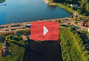 Издание «СБ» сняло имиджевый ролик про Лиду с высоты в 4К