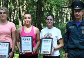Команда спасателей Лиды заняла третье место на областных соревнованиях по легкоатлетическому кроссу