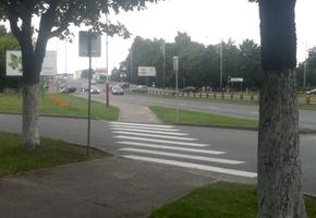 Пешеходный переход на путепроводе вернули обратно, а также добавили ещё несколько
