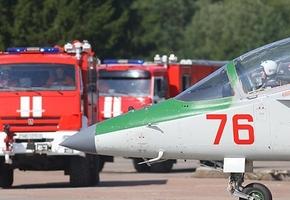 Авиация противника нанесла удар по аэродрому в Лиде, по замыслу учений войск тыла
