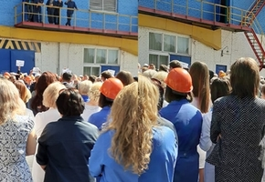 Работники ОАО «Лакокраска» встречаются с руководством, мэром, начальником милиции (будет обновлено)