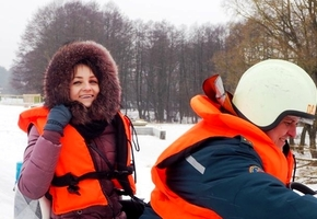 Лидские спасатели обзавелись снегоходами