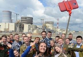 Лидские учащиеся отправились на строительство Белорусской атомной электростанции