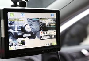 В Гродненской области впервые применили новую систему штрафа за парковку — АПК «ПаркРайт»