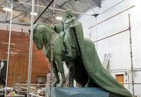 Монументальный совет утвердил модель памятника князю Гедимину, который появится в Лиде