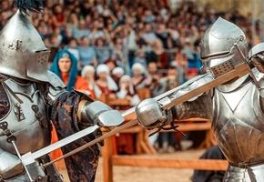 7 верасня ў Лiдзе пройдзе рыцарскi турнiр «Меч Лiдскага замка»
