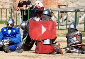 Шотландская пехота, массовые бои, девушки на ристалище: как прошёл рыцарский турнир в Лиде