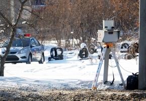 В Гродненской области будет установлено 16 новых стационарных камер фиксации скорости