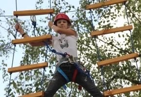 Уникальный ЭКСТРИМ-ПАРК! В Лиде открылся верёвочный городок для взрослых и детей*
