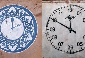 Лидский стрит-арт художник принял участие в проекте «Время идёт вперёд» к 25-летию распада СССР
