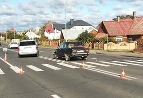 В Лиде произошло ДТП с участием пешехода
