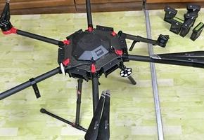 Лидские пограничники сбили дрон радиоэлектронным ружьём — он незаконно двигался рядом с государственной границей