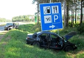 Последствия аварии минимизированы автокреслами. На трассе М6 в ДТП травмирован пятилетний мальчик