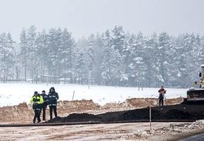 Летом некоторые участки дороги М6 между Щучином и Лидой будут сданы