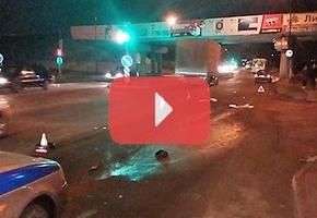 В Лиде девушка спешила на автобус и попала под автомобиль