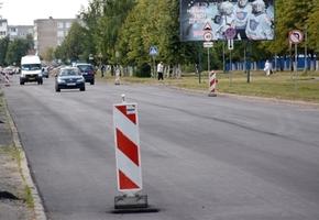 В Лиде проходит ремонт асфальтного покрытия основных улиц районов города: ул. Машерова, ул. Тухачевского и других