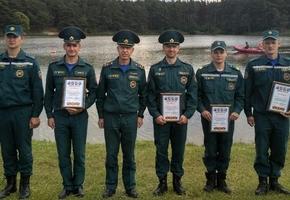 Лидские спасатели-пловцы заняли третье место на областных соревнованиях