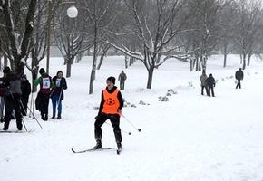 На лыжероллерной трассе состоялась «Лидская лыжня – 2017» (фото)