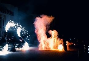 Лида с высоты: Огненные Вороны отметили 7-ой день рождения (видео)