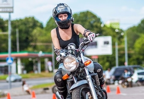 Последние дни: с 22 апреля в Беларуси экзамен для мотоциклистов усложняется