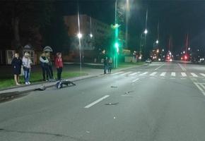 Лидчане совместно с милицией не дали уйти нетрезвому водителю, который совершил ДТП