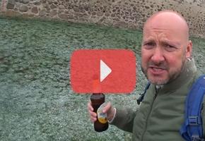 Английский блогер приехал в Лиду попить местного пива. Его встретил майский снег