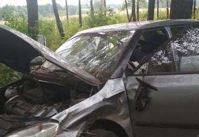 Под Вороново опрокинулась Skoda. Пассажирка получила перелом предплечья