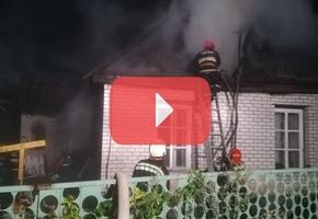 Лидские пожарные спасли три человека