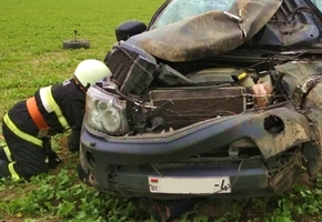 Под Вороново в жутком ДТП из авто выбросило 6 человек