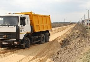 В мкр. Чеховцы дело с дорожной инфраструктурой сдвинулось с мёртвой точки