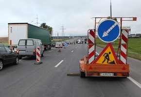 Движение по трассе М6 с 11-го по 57-й километр будет ограничено на 2 месяца (Минск — Воложин)