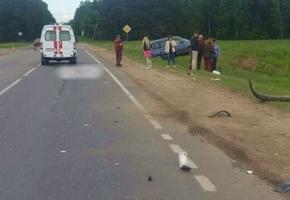 На объездной дороге возле мкр. Молодёжный произошло смертельное ДТП