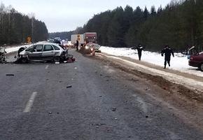 На М6 водитель отвлёкся от управления и совершил серьёзное ДТП