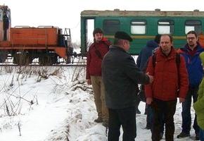 Барановичский блогер о экскурсии по УЖД в Лидском районе. Приехали даже рэйлфаны из Киева
