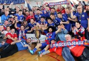 Кубок Беларуси впервые достался «Лидсельмашу»