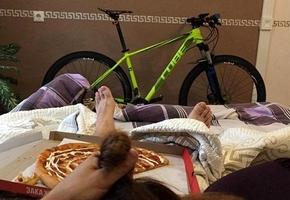Лидчанин решил продать велосипед с использованием провокационного пиара