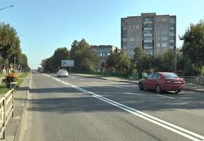 В Лиде на улице Коммунистической изменена организация дорожного движения