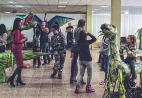 В Лидском музее проходит выставка «Возвращение динозавров»
