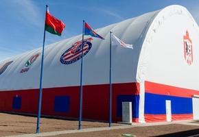 Крытая футбольная площадка открылась в Лиде