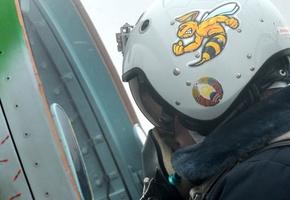 Фоторепортаж: войсковой части под Лидой передали новые Як-130