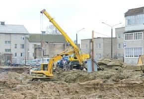 Лидские строительные организации возведут в Лиде два многоквартирных дома: в центре и на Хасановской