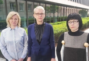 Ирену Бернацкую и ещё двух активисток выпроводили из Беларуси
