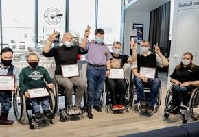 70 собеседований и 3 контракта для колясочников – «Инклюзивный бариста» лидчанина Саши Авдевича трудоустроит ещё трёх инвалидов