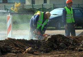 Масштабная реконструкция улицы Свердлова в Лиде близится к финалу