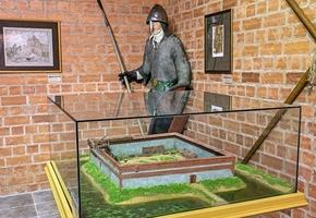 Башня Гедимина. И экспозиция «Старонкі гісторыі ад XIV стагоддзя»