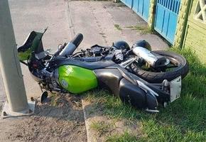 ДТП с участием мотоцикла произошло в Лиде