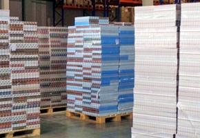 900000 пачек сигарет пытались провезти из РФ в Евросоюз через РБ. Их спрятали в радиаторах