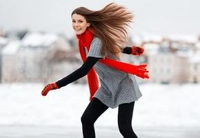 Зима позволила залить катки в Лиде